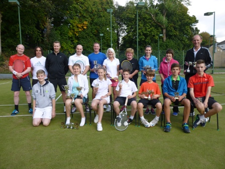 Club championship finalists  (September 2014)
